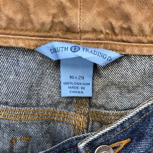 Duluth Trading Co Jeans - DULUTH TRADING COMPANY work carpenter jeans 16x29